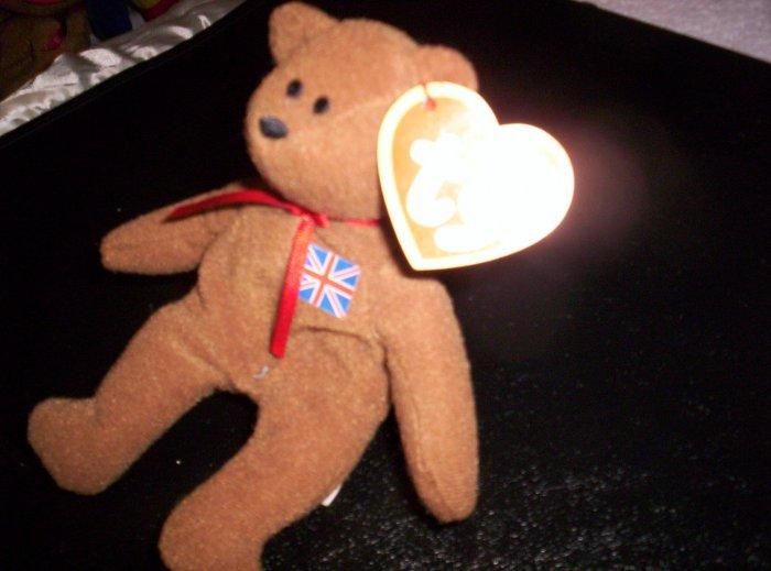 Teenie Beanie Baby: Brittania the Bear