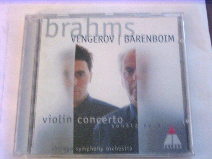 Brahms: Vengerov and Barenboim