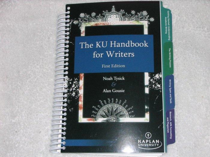 KU Handbook for Writers