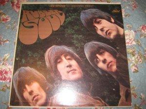 The Beatles: Rubber Soul 33 1/3 RPM