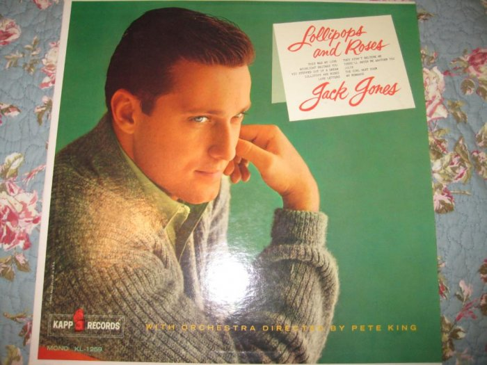 Jack Jones: Lollipops & Roses 33 1/3 RPM