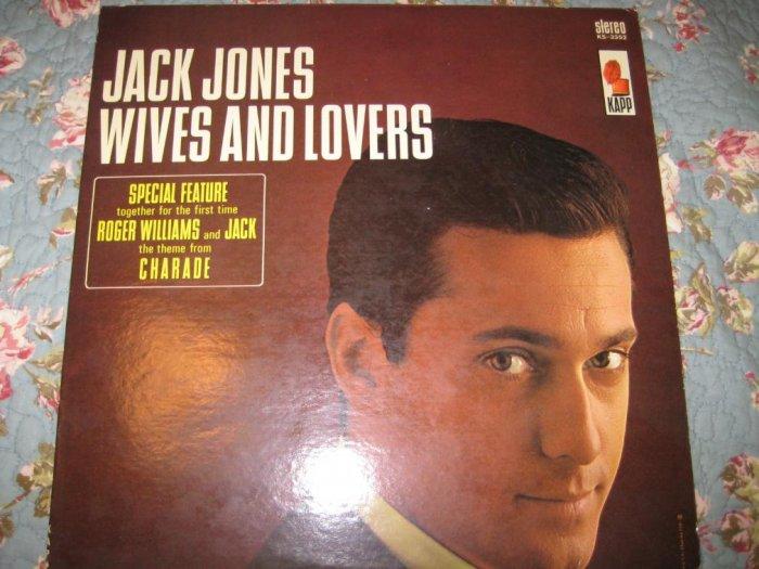 Jack Jones' Wives & Lovers 33 1/3 RPM