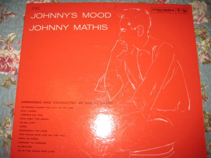 Johnny Mathis' Johnny's Mood 33 1/3 rpm