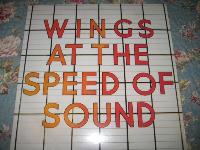 Wings: At the Speed of Sound 33 1/3 rpm