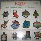 Elvis sings The Wonderful World of Christmas 33 1/3 rpm