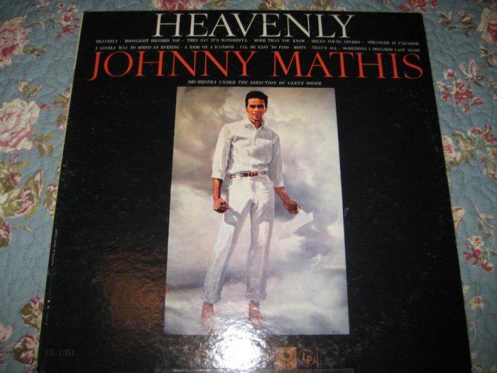 Johnny Mathis' Heavenly 33 1/3 rpm