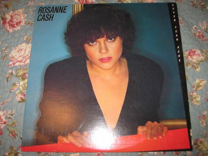 Rosanne Cash Seven Year Ache 33 1/3 rpm