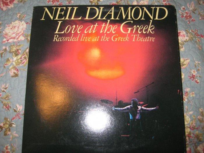 Neil Diamond's Love at the Greek 33 1/3 rpm