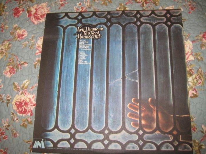 Neil Diamond's Taproot Manuscript 33 1/3 rpm
