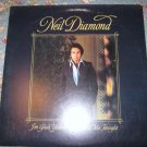 Neil Diamond: I'm Glad You're Here With Me Tonight 33 1/3 rpm
