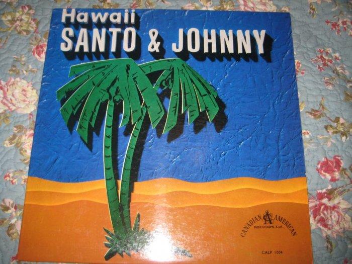 Santo & Johnny's Hawaii album 33 1/3 rpm