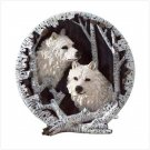 White Wolf Collector's Plate - 31047