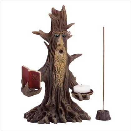 Wizened Tree Candle Holder - 35332