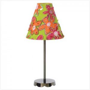 Incandescent Floral Candle Lamp - 35547