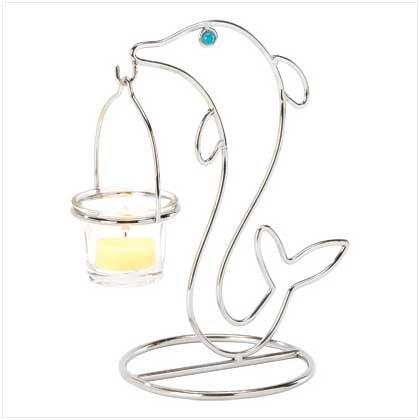 Dolphin Tealight Holder - 38181