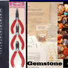 Jewelry Making KIT GEMSTONE 3 Tools and Beads Free USA Shipping