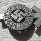 HITLER YOUTH PROFICIENCY BADGE-WITH NAZI SWASTIKA