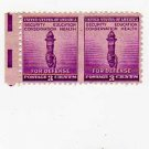SCOTT 901 ERROR-3 CENT TORCH-HORIZONTAL PAIR--#561