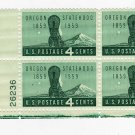 USA SCOTT# 1124-PLATE BLOCK-OREGON STATEHOOD-U S STAMPS