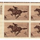 USA SCOTT# 1154-PONY EXPRESS-PLATE BLOCK-U S STAMP