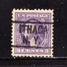 usa scott# 501 precancel u s used stamp (lot# 211)