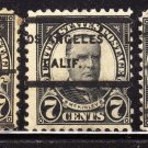 USA SCOTT# 559-7 CENT BLACK, PRECANCEL (LOT#217)