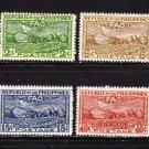 PHILIPPINE STAMPS, scott# 522 - 524, 1948, FAO/UN SET  (LOT#218)