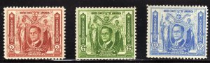 PHILIPPINE STAMPS,scott# 408,409,410 (LOT#220))
