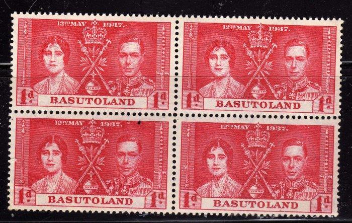 SCOTT# 15, BASUTOLAND-KING GEORGE CORONATION ISSUE