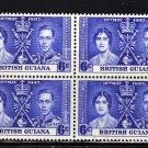 SC0TT# 229, BRITISH GUIANAKING GEORGE Vl CORONATION ISSUE