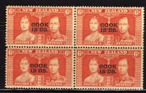 SC0TT# 111 COOK ISLAND STAMPS KING GEORGE Vl CORONATION ISSUE