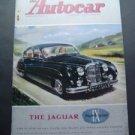 Nov 21 1958 Autocar Magazine Jaguar Race Car Shows