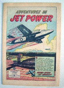 1950 General Electric Comic~Adventures In Jet Power