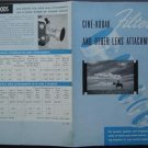 Cine Kodak Filters & other Lens Attachments Brochure