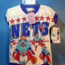 1990's New Jersey Nets  Infant Romper - USA Line Up 12M