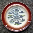 Souvenir Ashtray from the 1964-65 New York World's Fair