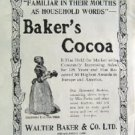 1908 Baker s Cocoa Good Housekeeping Advertisement