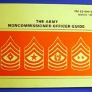 The Army Noncommissioned Officer Guide Booklet 1980