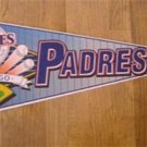 San Diego Padres New Baseball Pennant 1990's Wincraft