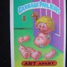 GARBAGE PAIL KIDS GIANT STICKER #6 ART APART SERIES #1