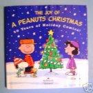 The Joy of a Peanuts Christmas Hallmark Book C Schulz