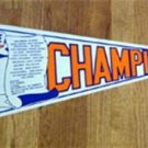 1986 New York Mets National League Champs Pennant