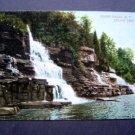Glenns Falls Below The Falls  N Y Post Card