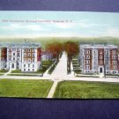 Girls Dormmitories Syracuse Univiversity  N Y Post Card