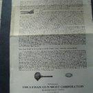 1950s Lyman Gun Co  IDEAL~ How To Cast Bullets Brochure