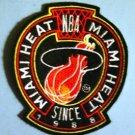 """Miami Heat NBA Basketball Jacket Jersey 4"""" Patch"""
