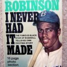 Jackie Robinson I Never Had it Made Dodgers Book 1974