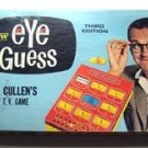 Eye Guess Game TV Show Bill Cullen 1966 2nd Edition