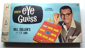 Eye Guess Game TV Show Bill Cullen 1966 2nd Edition