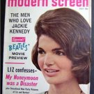 Modern Screen Magazine July 1964 Jackie Kennedy Beatles